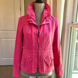Tribal Hot Pink Nylon Jacket